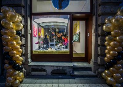 Die Ausstellung bei Goldwert.