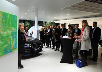 Ausstellung bei BMW